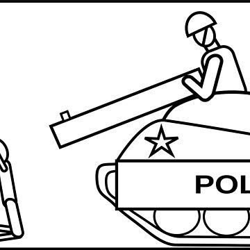 No tanks for police by mishki