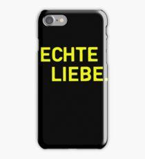 Echte Liebe - Black Edition iPhone Case/Skin