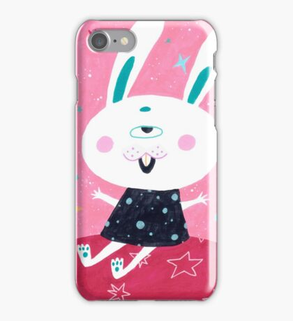 Bunny from mars iPhone Case/Skin