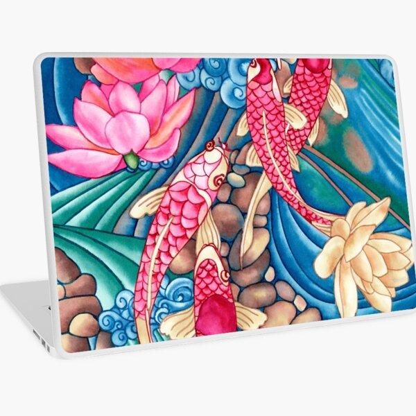 Koi Pond Laptop Skin