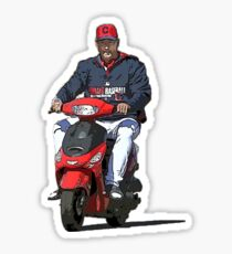 On My Way To Get Those Rings - Tito Scooter Sticker