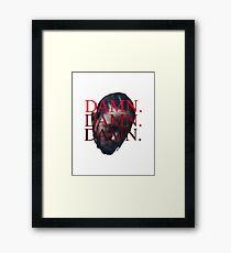 DAMN. Kendrick Lamar Framed Print