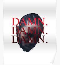 DAMN. Kendrick Lamar Poster