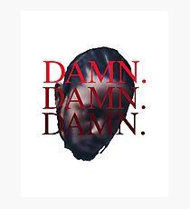 DAMN. Kendrick Lamar Photographic Print