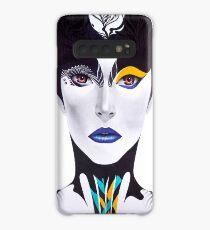 Blue Lip Case/Skin for Samsung Galaxy