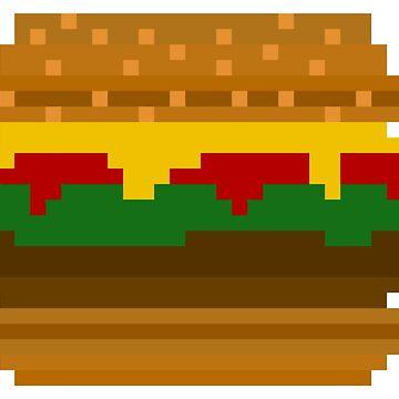 Burger 8 Bit by KrAyZiEBOOY