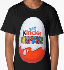 Kinder Surprise Chocolate Egg Long T-Shirt