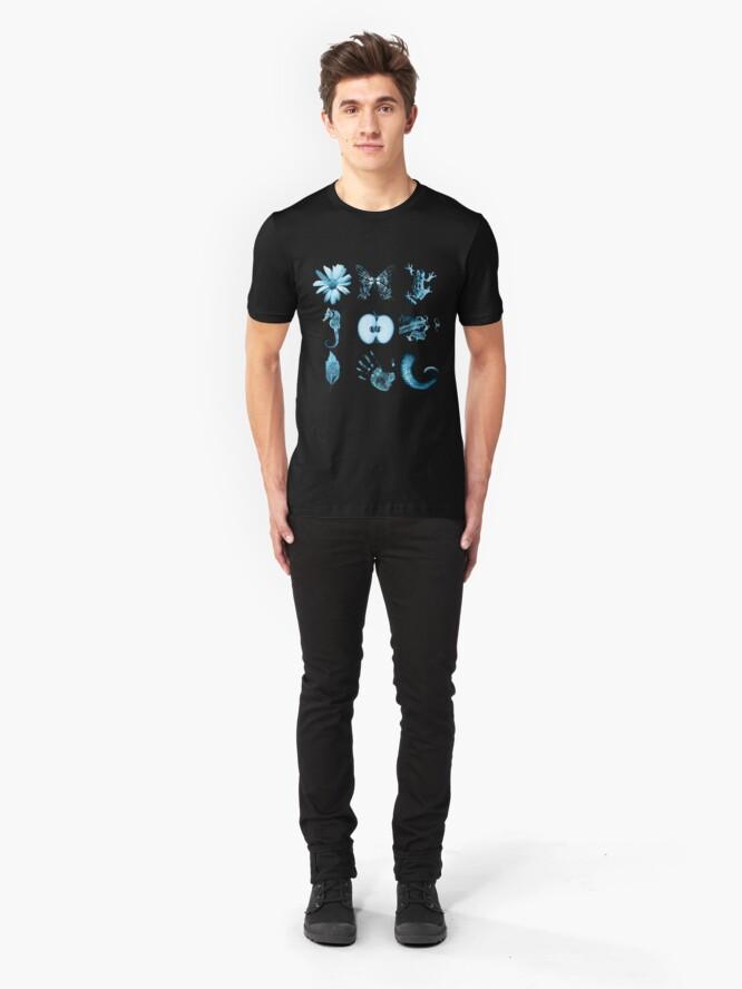 Alternate view of All nine glyphs of Fringe Slim Fit T-Shirt