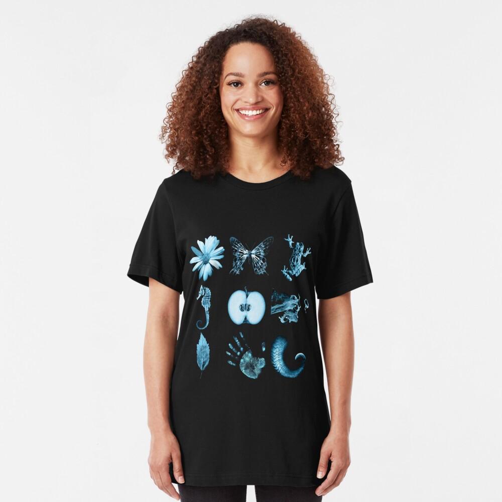 All nine glyphs of Fringe Slim Fit T-Shirt