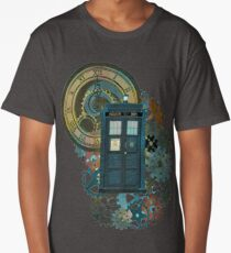 TARDIS Art Doctor Who  Long T-Shirt