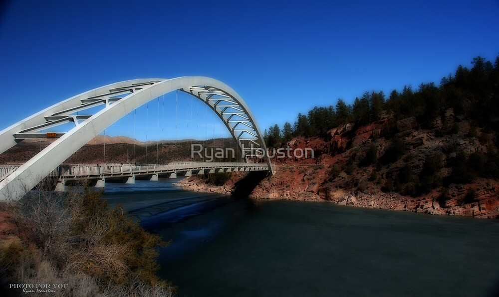 Arch Bridge, Flaming Gorge National Recreation Area, Utah by Ryan Houston