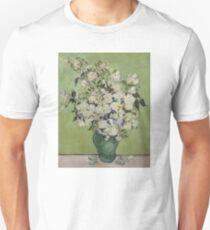Vase Of Roses - Vincent Van Gogh Unisex T-Shirt