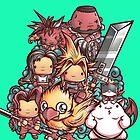 Cute Fantasy VII by jmlfreeman