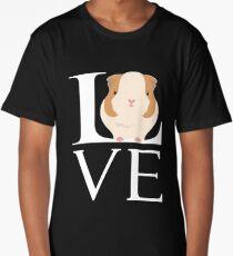 Love Guinea Pigs Funny Animal Lover Long T-Shirt