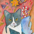 Maxine, Adopt a Cat Series.  by SarahSolie