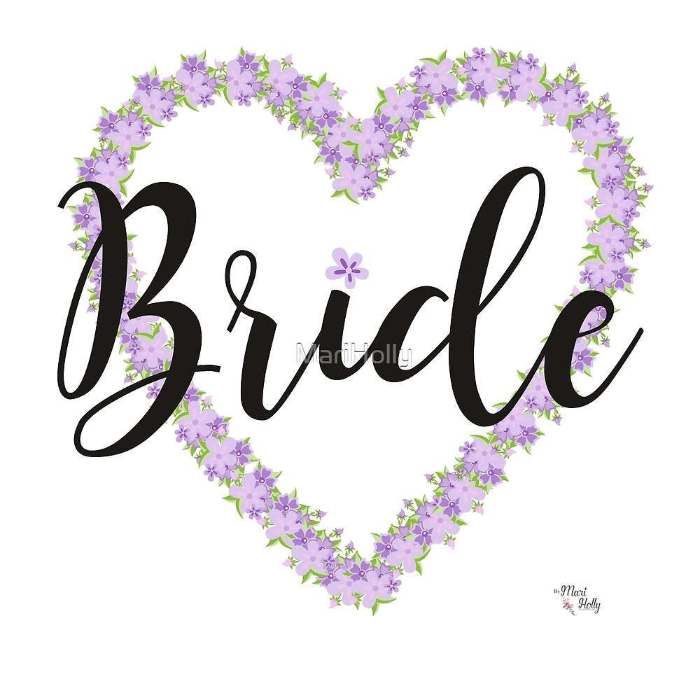 Bride Poster by MariHolly