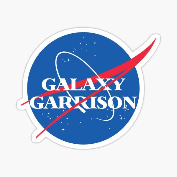 Voltron Galaxy Garrison NASA Parody Sticker