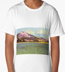 Falkenstein Landscape In Lower Austria Long T-Shirt