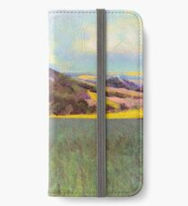 Falkenstein Landscape In Lower Austria iPhone Wallet/Case/Skin