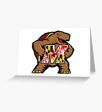University of Maryland Terps Greeting Card