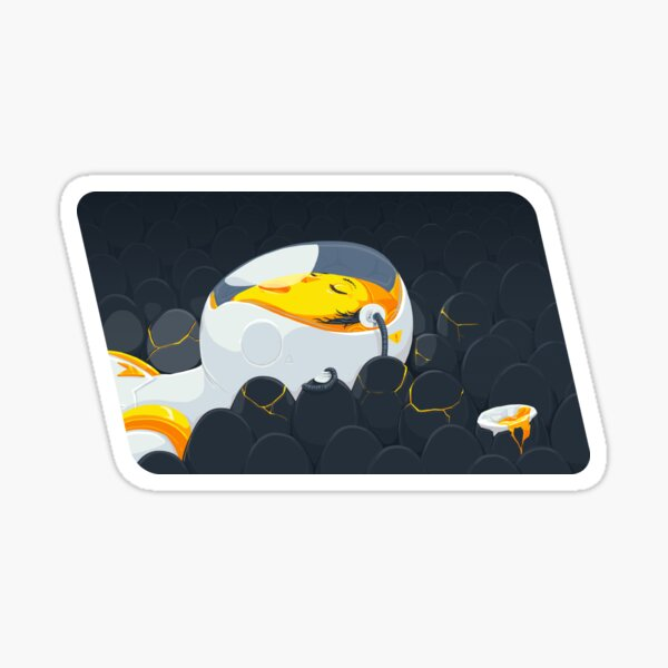 Egg Breath Sticker
