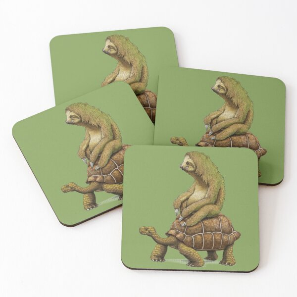 Speed is Relative Coasters (Set of 4)