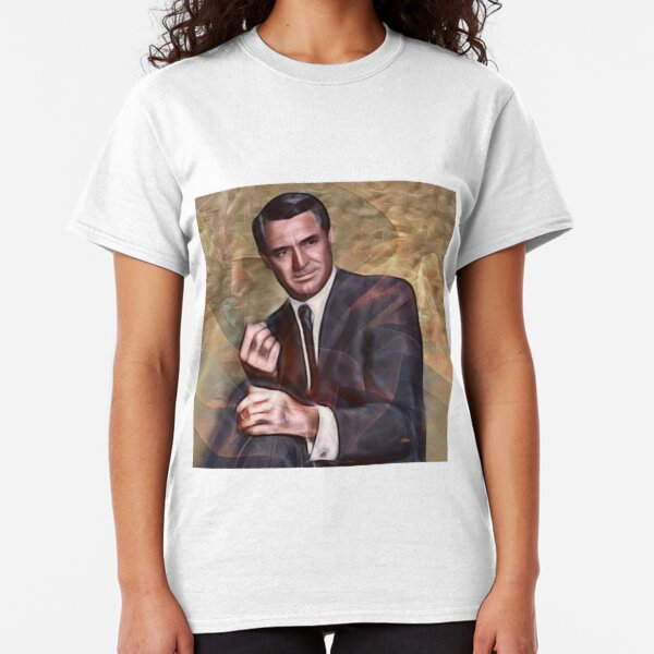 Cary Grant (Square Version) - By John Robert Beck Classic T-Shirt