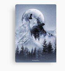 Howl with the Wolf Canvas Print