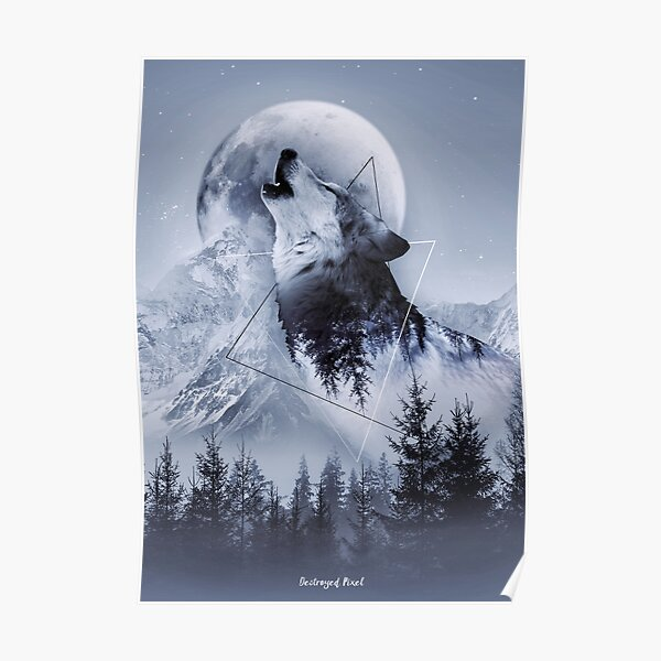 Howl with the Wolf Poster