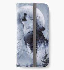 Howl with the Wolf iPhone Wallet/Case/Skin