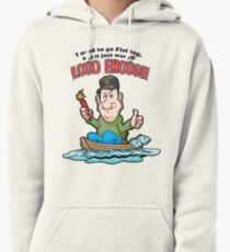 Tackleberry Goes Fishing Pullover Hoodie