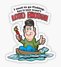 Tackleberry Goes Fishing Sticker