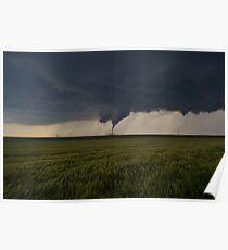 Wizzard of Oz Tornado  Poster