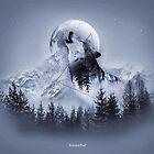 Howl with the Wolf von Destroyed-Pixel