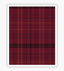 Williams of Wales Clan/Family Tartan  Sticker