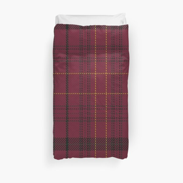Williams of Wales Clan/Family Tartan  Duvet Cover