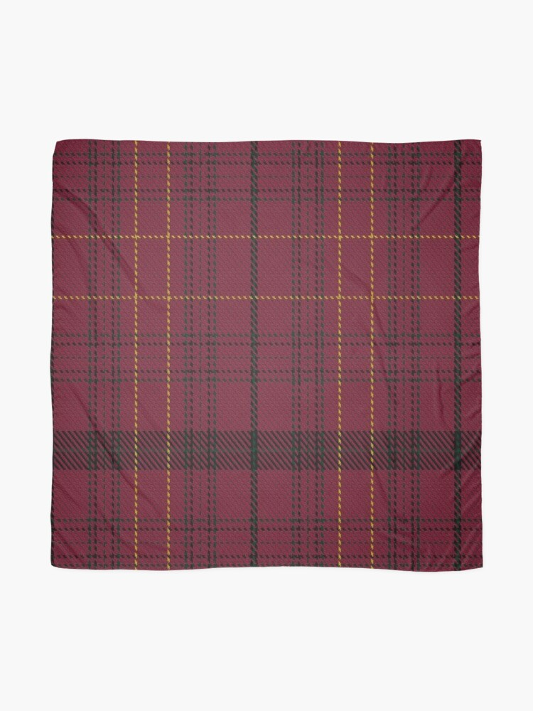 Alternate view of Williams of Wales Clan/Family Tartan  Scarf