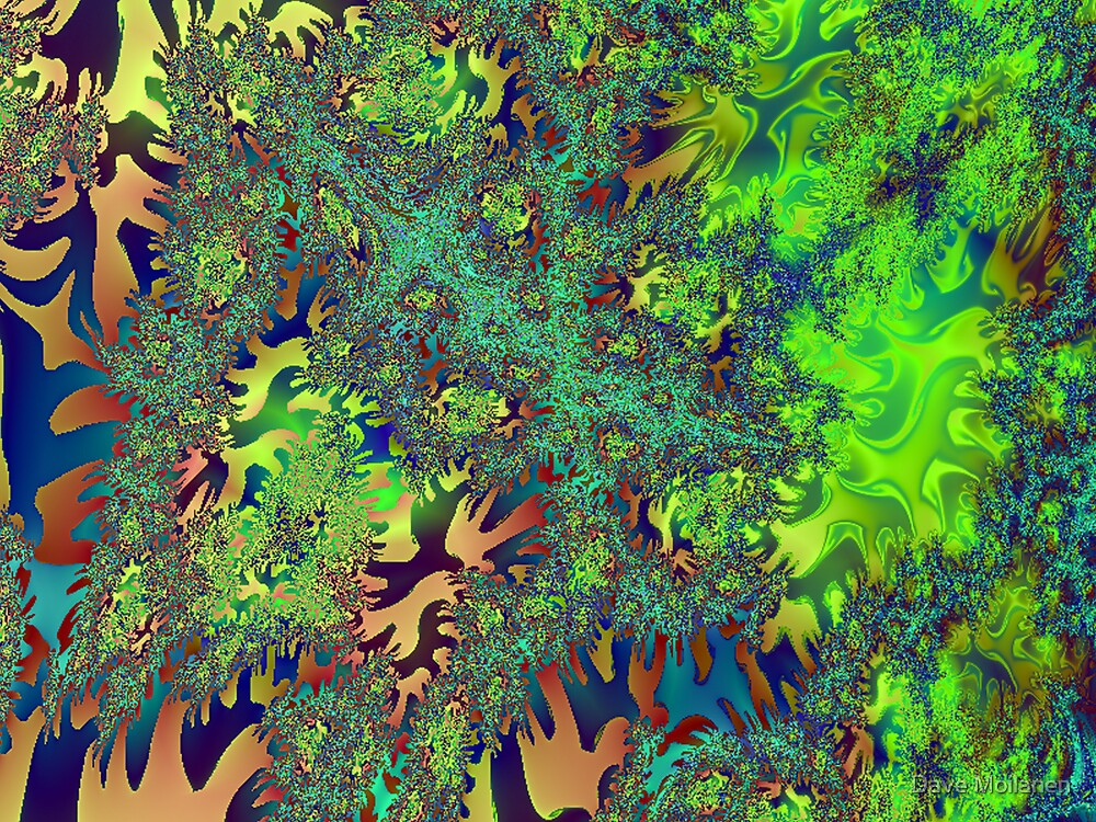 Scenes From The Fractal Mind: Scene 1 by Dave Moilanen