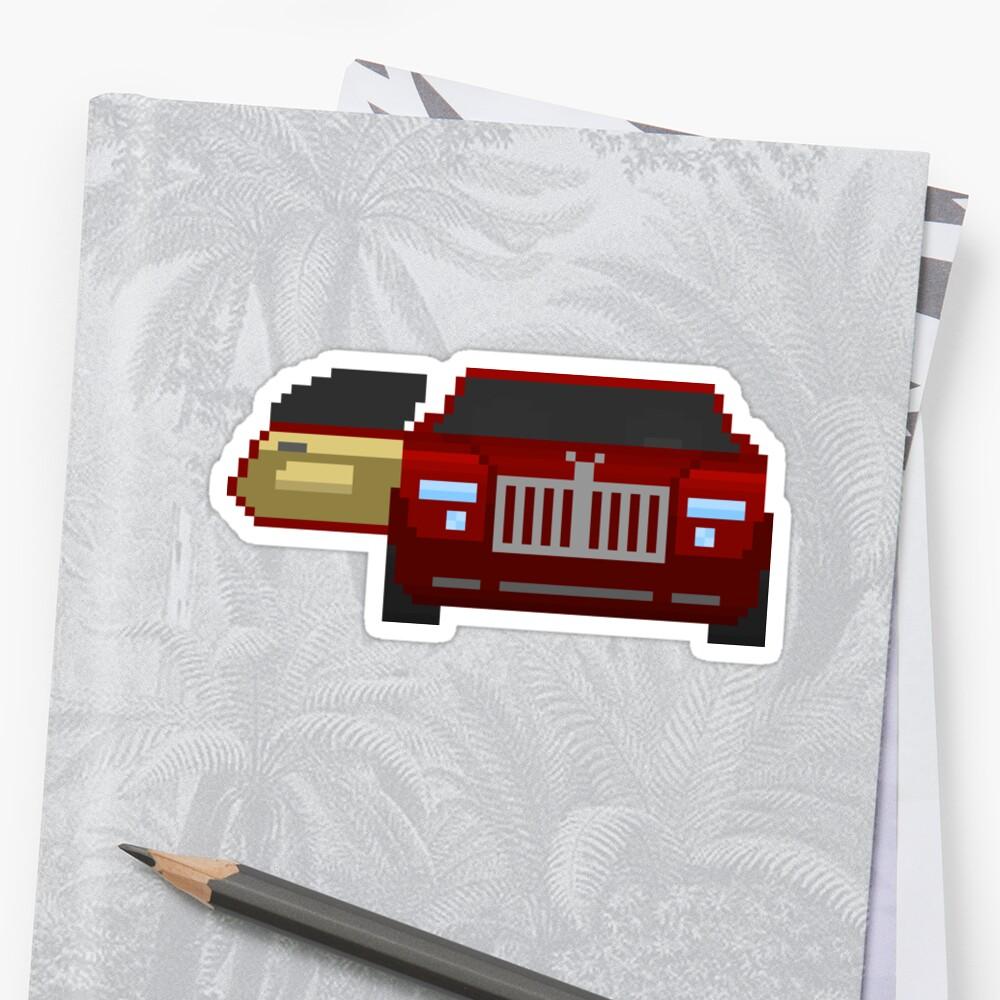 Red Luxury Car  by brick86