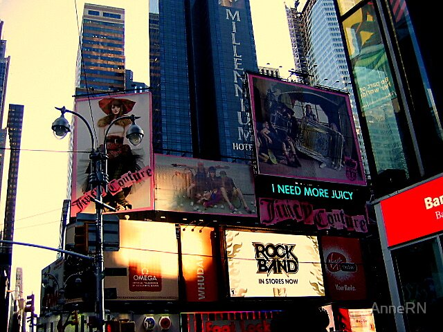 NYC - Times Square by AnneRN