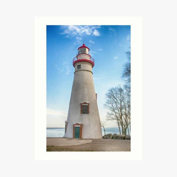 Marblehead Light House Lake Erie Art Print