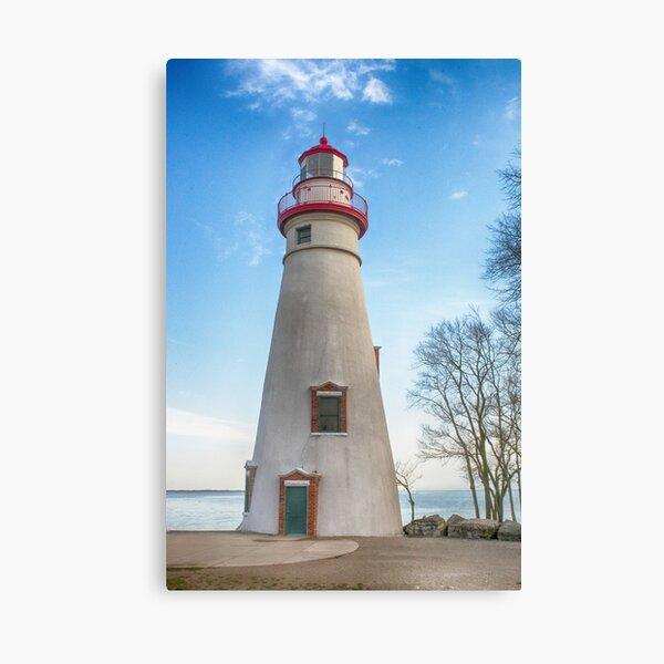 Marblehead Light House Lake Erie Canvas Print