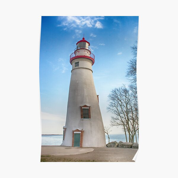 Marblehead Light House Lake Erie Poster