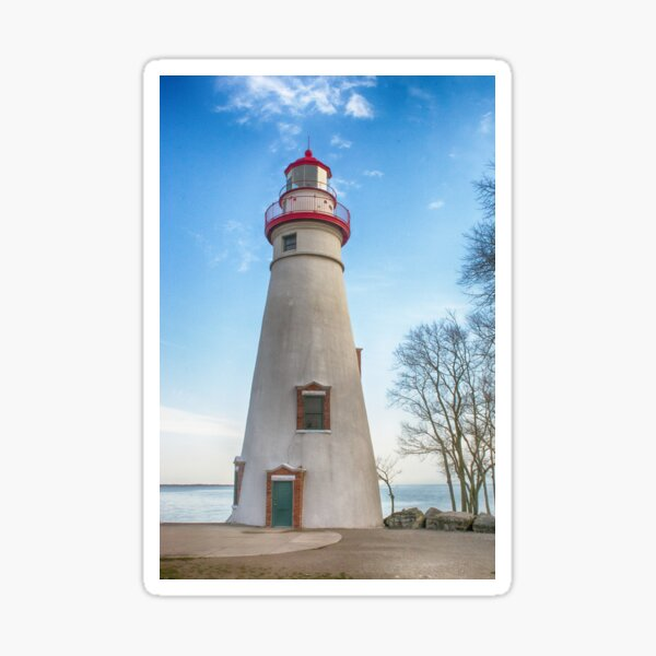 Marblehead Light House Lake Erie Sticker