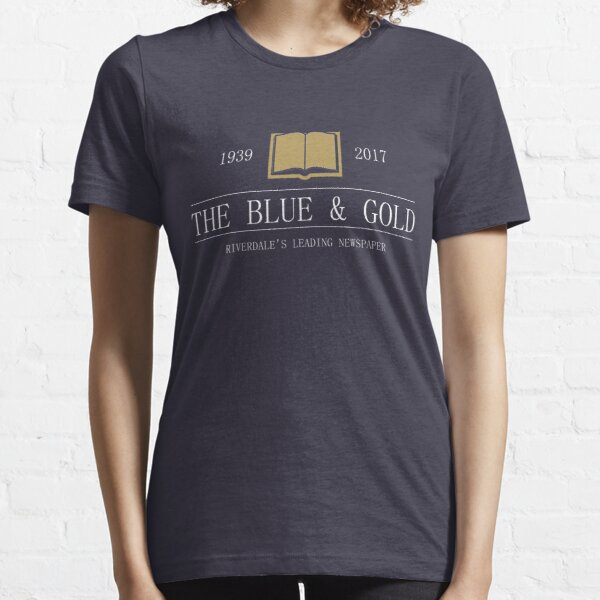 The Blue & Gold Riverdale Newspaper Essential T-Shirt