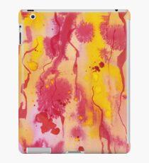 Orange Ink iPad Case/Skin