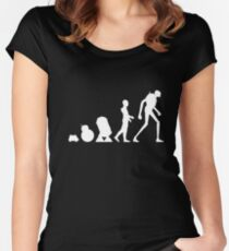 Droid Evolution Women's Fitted Scoop T-Shirt