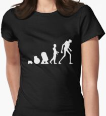 Droid Evolution Women's Fitted T-Shirt