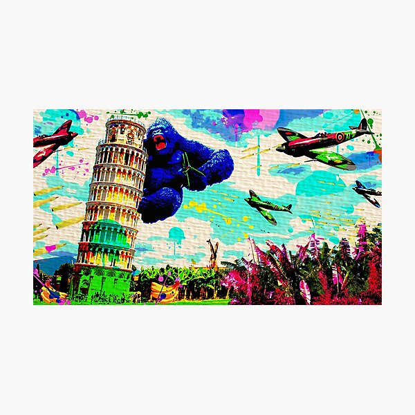 The King of Pisa Photographic Print