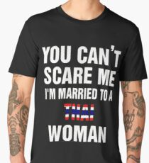 Married To a Thai woman quote and More  Men's Premium T-Shirt